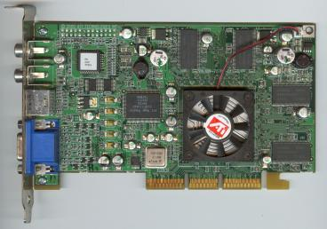 ATi Radeon 256 DDR VIVO (front side)
