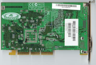 ATi Radeon 256 SDR TV (back side)