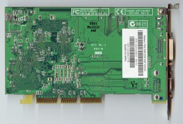 ATi Radeon 7000 (back side)