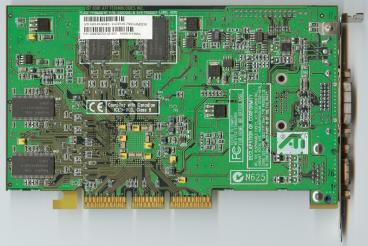 ATi Radeon 7500 (reference) (back side)