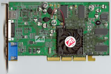 ATi Radeon 7500 (reference) (front side)