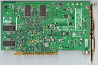 ATi Radeon 8500 (back side)