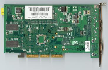 ATi Radeon 9000 VIVO (back side)