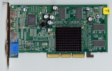 ATi Radeon 9000 VIVO (front side)