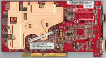 ATi Radeon 9800 XT (back side)