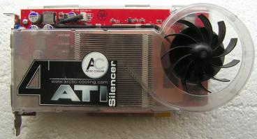 ATi Radeon X800 XT Platinum Edition (front side)
