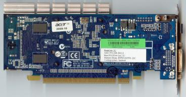 Acer GeForce 9300 GE (back side)