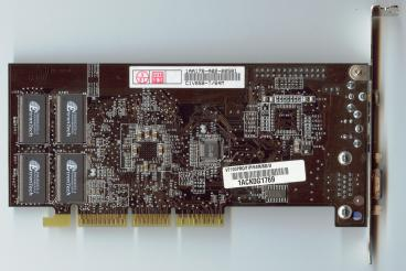 Asus GeForce2 MX400 64 MB (back side)