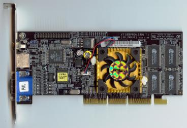 Asus GeForce2 MX400 64 MB (front side)