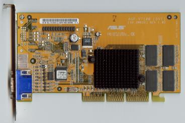 Asus GeForce2 MX (DVI PCB) (front side)