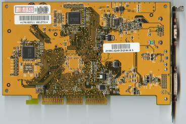 Asus GeForce4 MX460 (DVI) (back side)