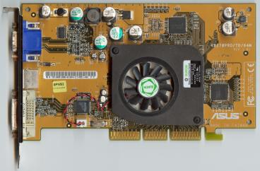 Asus GeForce4 MX460 (DVI) (front side)