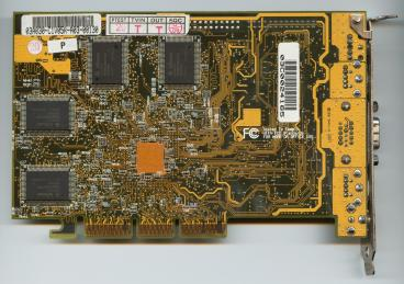 Asus GeForce 256 DDR (back side)
