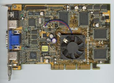 Asus GeForce 256 DDR (front side)