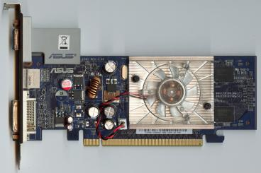Asus GeForce 7300 GS (front side)