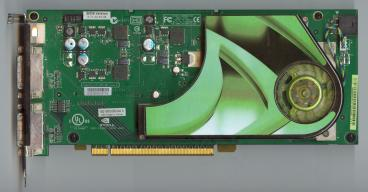 Asus GeForce 7950 GX2 (front side)
