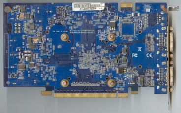 Asus GeForce 8600 GTS (back side)