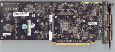 Asus GeForce 9800 GTX (back side)