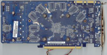 Asus GeForce GTS 250 (back side)
