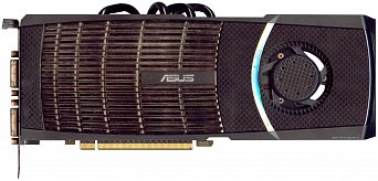 Asus GeForce GTX 480 (front side)