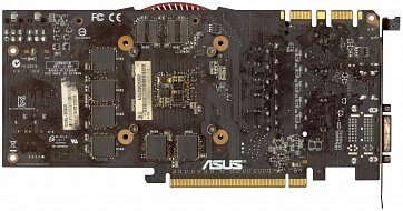 Asus GeForce GTX 660 OEM (3 GB) (back side)