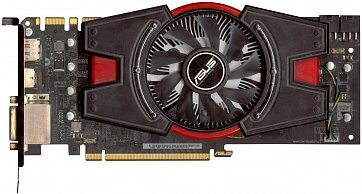 Asus GeForce GTX 660 OEM (3 GB) (front side)