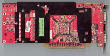 Asus Radeon HD 2900 XT (back side)