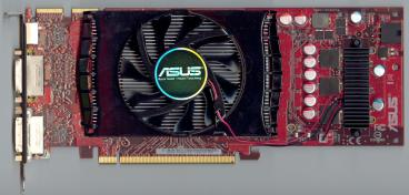 Asus Radeon HD 4830 (front side)
