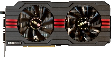 Asus Radeon HD 7970 (front side)