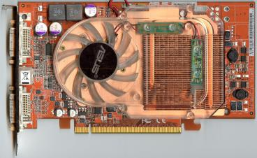 Asus Radeon X800 GTO (256 MB GDDR3) (front side)
