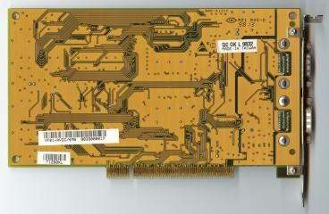 Biostar Venus 3D Graphics (back side)