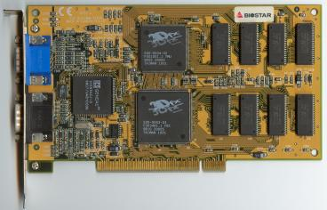 Biostar Venus 3D Graphics (front side)