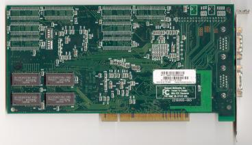 Diamond Monster 3D II 8MB (back side)