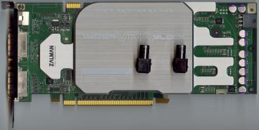 EVGA GeForce 8800 GTS 640 112sp (front side)