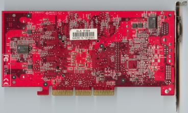 Gainward GeForce3 Ti 200 128 MB (back side)
