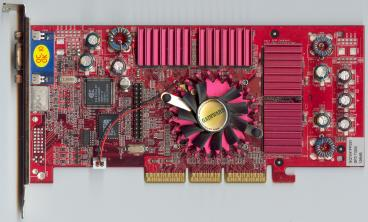 Gainward GeForce3 Ti 200 128 MB (front side)