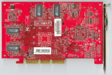 Gainward GeForce4 Ti 4800 SE (back side)
