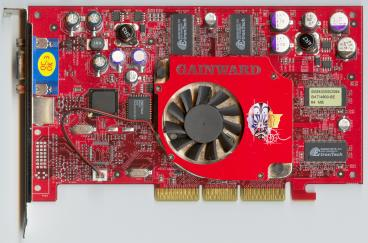 Gainward GeForce4 Ti 4800 SE (front side)