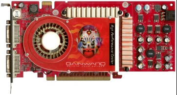 Gainward GeForce 7800 GT 512 MB (front side)