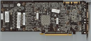 Gainward GeForce GTX 285 (back side)