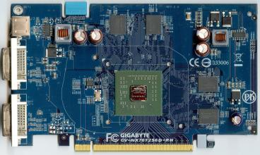 Gigabyte GeForce 7600 GT (80nm)