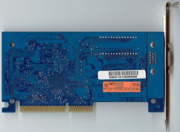 Gigabyte Riva TNT2 M64 Vanta LT (back side)