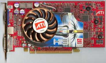 HIS Radeon X800 GTO (front side)