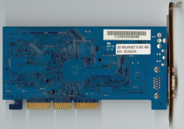 Hercules GeForce2 MX400 32 MB (back side)