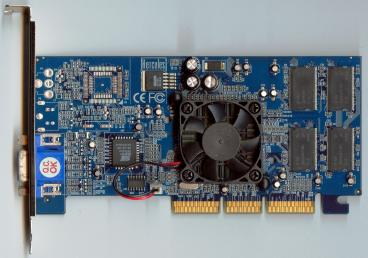 Hercules GeForce2 MX400 32 MB (front side)