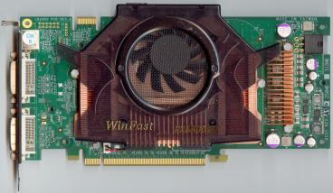Leadtek GeForce 6800 GT PCI-E (front side)