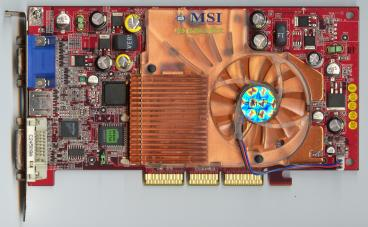 MSI GeForce4 Ti 4200 8x (front side)