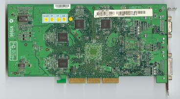 MSI GeForce4 Ti 4600 (back side)