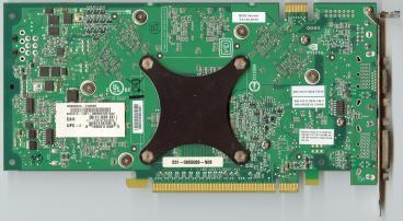 MSI GeForce 6800 GS (back side)