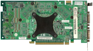 MSI GeForce 6800 Ultra PCI-E (back side)
